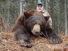 Alberta Black Bear Hunting Photos