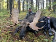 Alberta Moose Hunting Photos