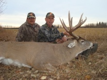 2009 Alberta Whitetail Deer Hunting Pictures