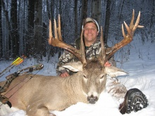 2006 Alberta Whitetail Deer Hunting Pictures