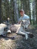 Chuck Davis Archery WOLF!!!