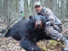 Mike Fortier 1st Bear!!!